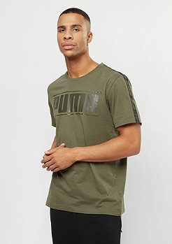 Puma Rebel Tape Logo olive night heather