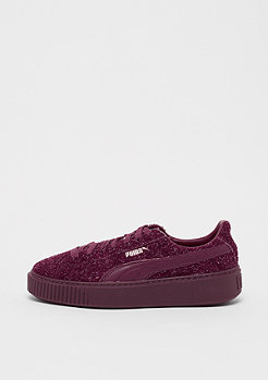 Puma Suede Platform Elemental burgundy/rose gold