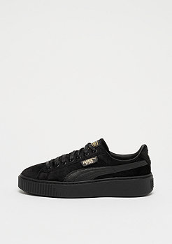 Puma Basket Platform Velvet black/gold
