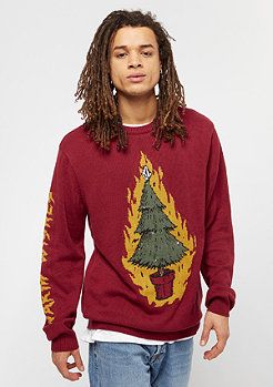 Volcom Warm Wishes deep red