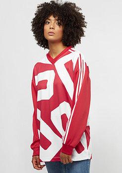 adidas Track Longsleeve Oversize red/white