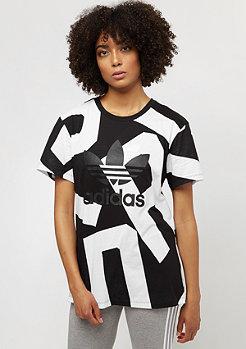 adidas Boyfriend Tee black/white