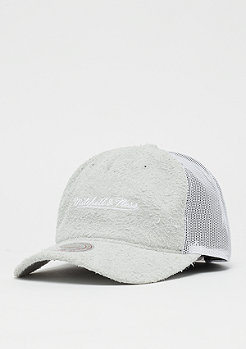 Mitchell & Ness Long Hair Suede white