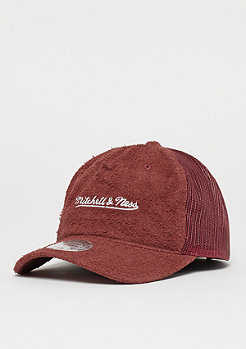 Mitchell & Ness Long Hair Suede burgundy