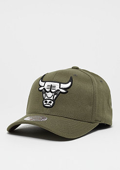 Mitchell & Ness Flexfit 110 NBA Chicago Bulls olive