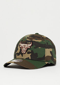 Mitchell & Ness Woodland Camo & Suede 110 NBA Chicago Bulls camo/black suede