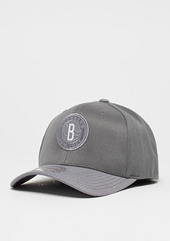 Mitchell & Ness Heather 2-Tone 110 NBABrooklyn Nets grey
