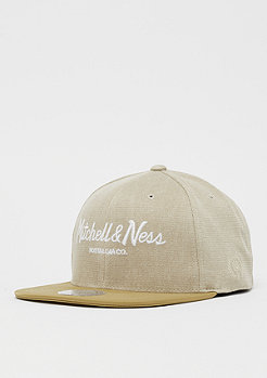 Mitchell & Ness Plaid Span Pinscript 110 tan