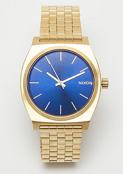 Nixon Time Teller all gold/blue sunray
