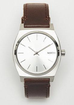 Nixon Time Teller argenté/marron/bronzé