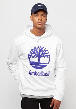 Timberland Stacked Logo white