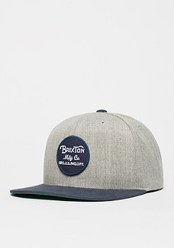 Brixton Wheeler light heather grey/navy