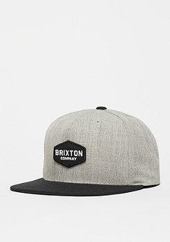 Brixton Obtuse light heather grey/black