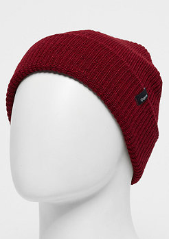 Brixton Heist heather red