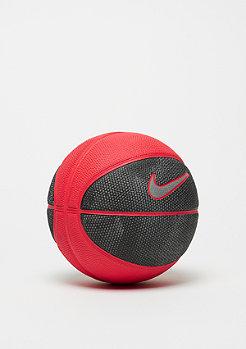 NIKE Ballon de basket Swosh Kills (Size 3) black/university red