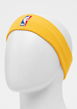 NIKE Basketball Bandeau NBA jaune/jaune