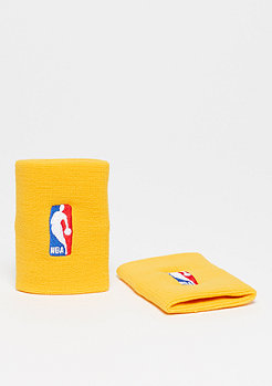 NIKE Basketball Wristbands NBA amarillo/amarillo