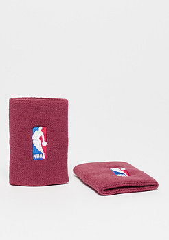 NIKE Basketball NBA Wristbands team red/team red