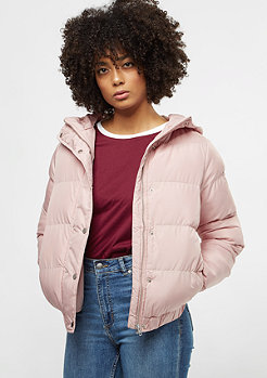 Urban Classics Hooded Puffer light rose