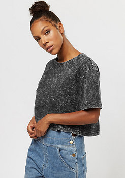 Urban Classics Random Wash Short Oversized dark grey