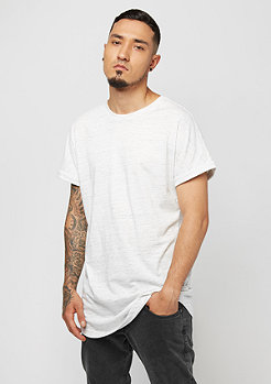 Urban Classics Long Space Dye Turn Up white/black