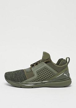 Puma Ignite Limitless Evoknit olive night