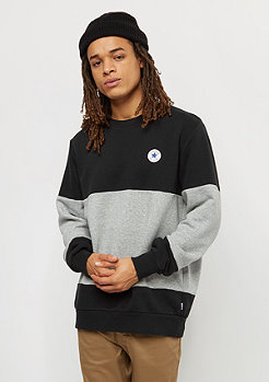 Converse Core Colorblock Crew black/vintage grey heather
