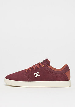DC CRISIS M SHOE BT3 burgundy/tan