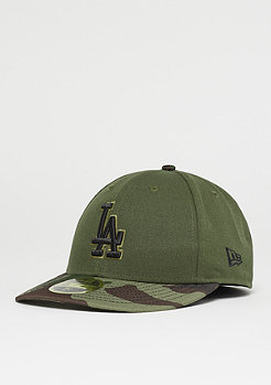 New Era 59Fifty Memorial Day MLB Los Angeles Dodgers riflegreen