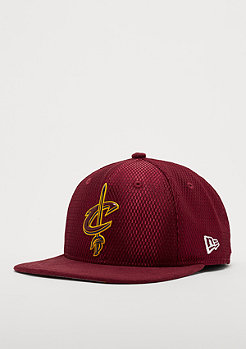 New Era 9Fifty On-Court NBA Cleveland Cavaliers burgundy
