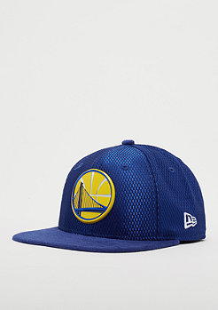 New Era 9Fifty On-Court NBA Golden State Warriors blue