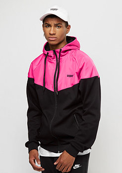 SNIPES Windrunner black/rasberry sorbet