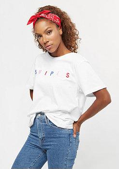 SNIPES Colored Logo Oversized white