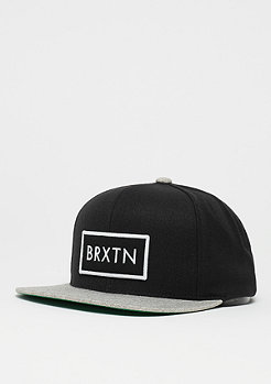 Brixton Rift black/light heather grey