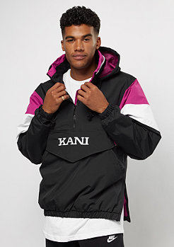 Karl Kani Blocked Windbreaker black/pink/white