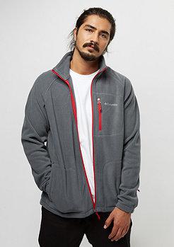 Columbia Sportswear Fast Trek II Fleece graphite/mountain red