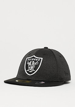 New Era 59Fifty Low Profile Shadow Tech NFL Oakland Raiders graphite