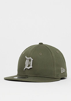 New Era 9Fifty League Essential MLB Detroit Tigers new olive/gris