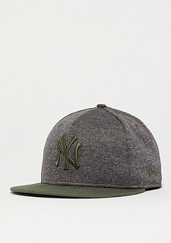New Era 9Fifty Heather Jersey MLB New York Yankees new olive
