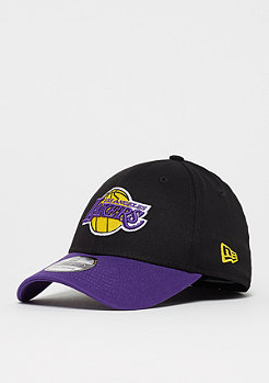 New Era 39Thirty Blackbase NBA Los Angeles Lakers black