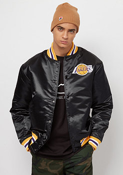 Mitchell & Ness NBA Satin LA Lakers black