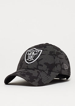 New Era 9Forty Night Time Reflective NFL Oakland Raiders black