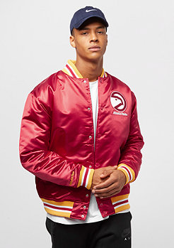 Mitchell & Ness NBA Satin Atlanta Hawks red