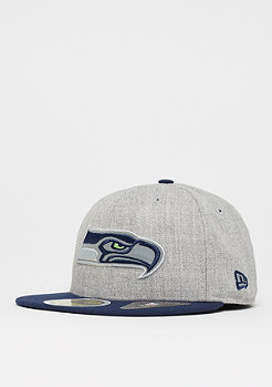 New Era 59Fifty Reflective Heather NFL Seattle Seahawks heather grey