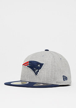 New Era 59Fifty Reflective Heather NFL New England Patriots grey