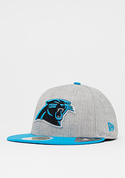 New Era 59Fifty Reflective Heather NFL Carolina Panthers grey