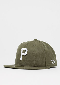 New Era 59Fifty Seasonal Heather MLB Pittsburgh Pirates heather army