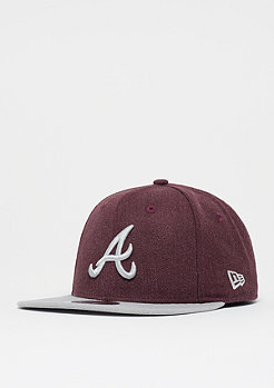 New Era 9Fifty Seasonal Heather MLB Atlanta Braves heather graphite