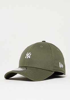 New Era 39Thirty Mini Logo MLB New York Yankees new olive/white