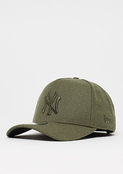 New Era 9Forty Aframe Seasonal Heather MLB New York Yankees army